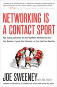 Networking Is a Contact Sport 1st Edition 9781935618089 1935618083