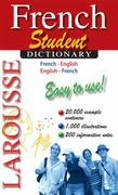 Larousse Student Dictionary French-English/English-French 0 9782035410153 2035410150
