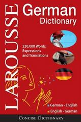 Larousse Concise German-English/English-German Dictionary 1st Edition 9782035410528 2035410525