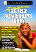 Write Your Way into College 1st edition 9781576857274 1576857271