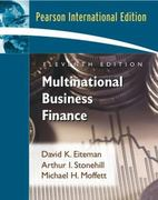 Multinational Business Finance 11th edition 9780321449566 0321449568