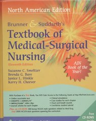 Brunner & Suddarth's Textbook of Medical Surgical Nursing 11th edition 9781582559940 1582559945