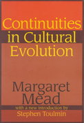 Continuities in Cultural Evolution 0 9780765806048 0765806045