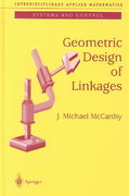 Geometric Design of Linkages 1st edition 9780387989839 0387989838