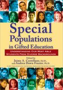 Special Populations in Gifted Education 1st Edition 9781593634179 159363417X