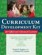 Curriculum Development Kit for Gifted and Advanced Learners 0 9781593634100 1593634102