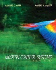 Modern Control Systems 12th edition 9780136024583 0136024580