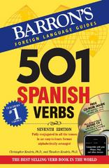 501 Spanish Verbs with CD-ROM and Audio CD 7th edition 9780764197970 0764197975