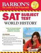 Barron's SAT Subject Test World History 4th edition 9780764144844 0764144847
