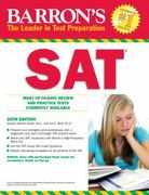 Barron's SAT 25th edition 9780764144363 0764144367