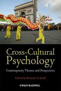 Cross-Cultural Psychology 1st Edition 9781405198059 1405198052