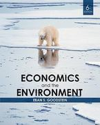 Economics and the Environment 6th edition 9780470561096 0470561092
