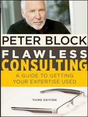 Flawless Consulting, Enhanced Edition 3rd Edition 9781118000854 1118000854
