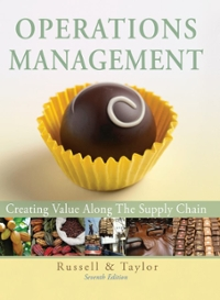 Operations Management 7th Edition 9780470525906 0470525908