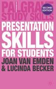 Presentation Skills for Students 2nd edition 9780230243040 0230243045