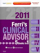 Ferri's Clinical Advisor 2011 1st edition 9780323056106 0323056105