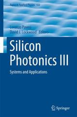 Silicon Photonics III 1st Edition 9783642105029 3642105025