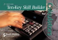 Ten-Key Skill Builder for Calculators 2nd Edition 9780538692748 053869274X
