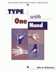 Type With One Hand 3rd edition 9780538682756 0538682752
