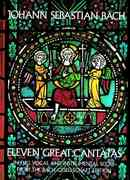 Eleven Great Cantatas 1st Edition 9780486232683 0486232689