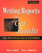 Writing Reports to Get Results 3rd edition 9780471143420 0471143421