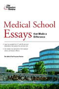Medical School Essays That Made a Difference 1st edition 9780375765711 0375765719