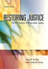 Restoring Justice 4th edition 9781422463307 1422463303