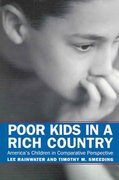 Poor Kids in a Rich Country 1st Edition 9780871547057 0871547058