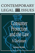 Consumer Protection and the Law 0 9780874367638 0874367638