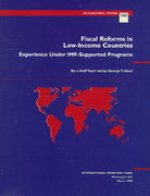 Fiscal Reforms in Low-Income Countries 0 9781557757173 1557757178