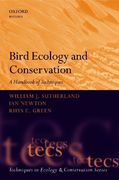 Bird Ecology and Conservation 1st Edition 9780198520863 0198520867
