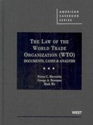 The Law of the World Trade Organization (Wto) 1st edition 9780314906632 0314906630