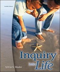 Inquiry Into Life 12th edition 9780072986754 0072986751
