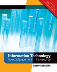 Information Technology Project Management, Revised (with Premium Online Content Printed Access Card) 6th Edition 9781111221751 1111221758