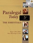 Paralegal Today 5th edition 9781435498556 1435498550