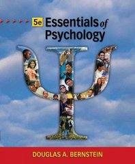 Essentials of Psychology 5th edition 9780495906933 049590693X