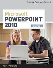 Microsoft PowerPoint 2010 1st Edition 9781439078938 1439078939