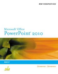 New Perspectives on Microsoft PowerPoint 2010 1st edition 9780538753746 0538753749