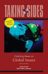 Taking Sides: Clashing Views on Global Issues, Expanded 6th edition 9780077381929 0077381920