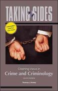 Taking Sides: Clashing Views in Crime and Criminology, Expanded 9th edition 9780077408060 0077408063