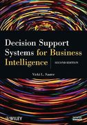 Decision Support Systems for Business Intelligence 2nd Edition 9780470433744 0470433744