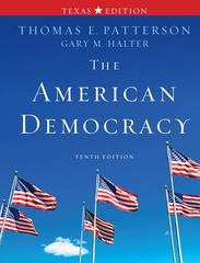 The American Democracy Texas Edition 10th edition 9780077339067 0077339061