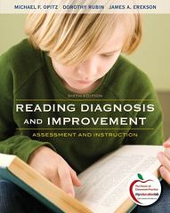 Reading Diagnosis and Improvement 6th Edition 9780137056392 0137056397