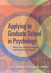 Applying to Graduate School in Psychology 1st edition 9781433803451 1433803453