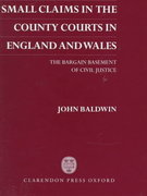 Small Claims in the County Courts in England and Wales 0 9780198264774 0198264771