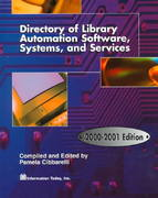 Directory of Library Automation Software, Systems, and Services 2000-2001 2001st edition 9781573870887 1573870889