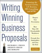 Writing Winning Business Proposals 3rd Edition 9780071742320 0071742328