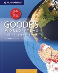 Rand McNally Goode's World Atlas 22th Edition 9780528877537 0528877534