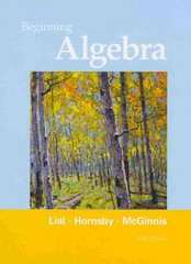 Beginning Algebra 11th edition 9780321673480 0321673484