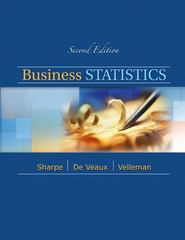 Business Statistics 2nd edition 9780321716095 0321716094